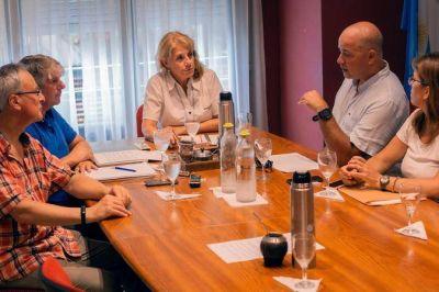 Horacio Taccone se reunió con el Colegio de Ingenieros para agilizar las habilitaciones en Mar del Plata