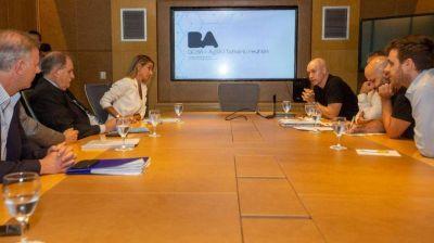 Malena Galmarini y Horacio Rodríguez Larreta acordaron trabajar en conjunto