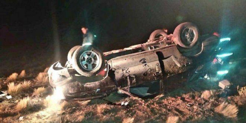 Murió el secretario adjunto de UTA Santa Cruz y Tierra del Fuego tras volcar en la Ruta 3