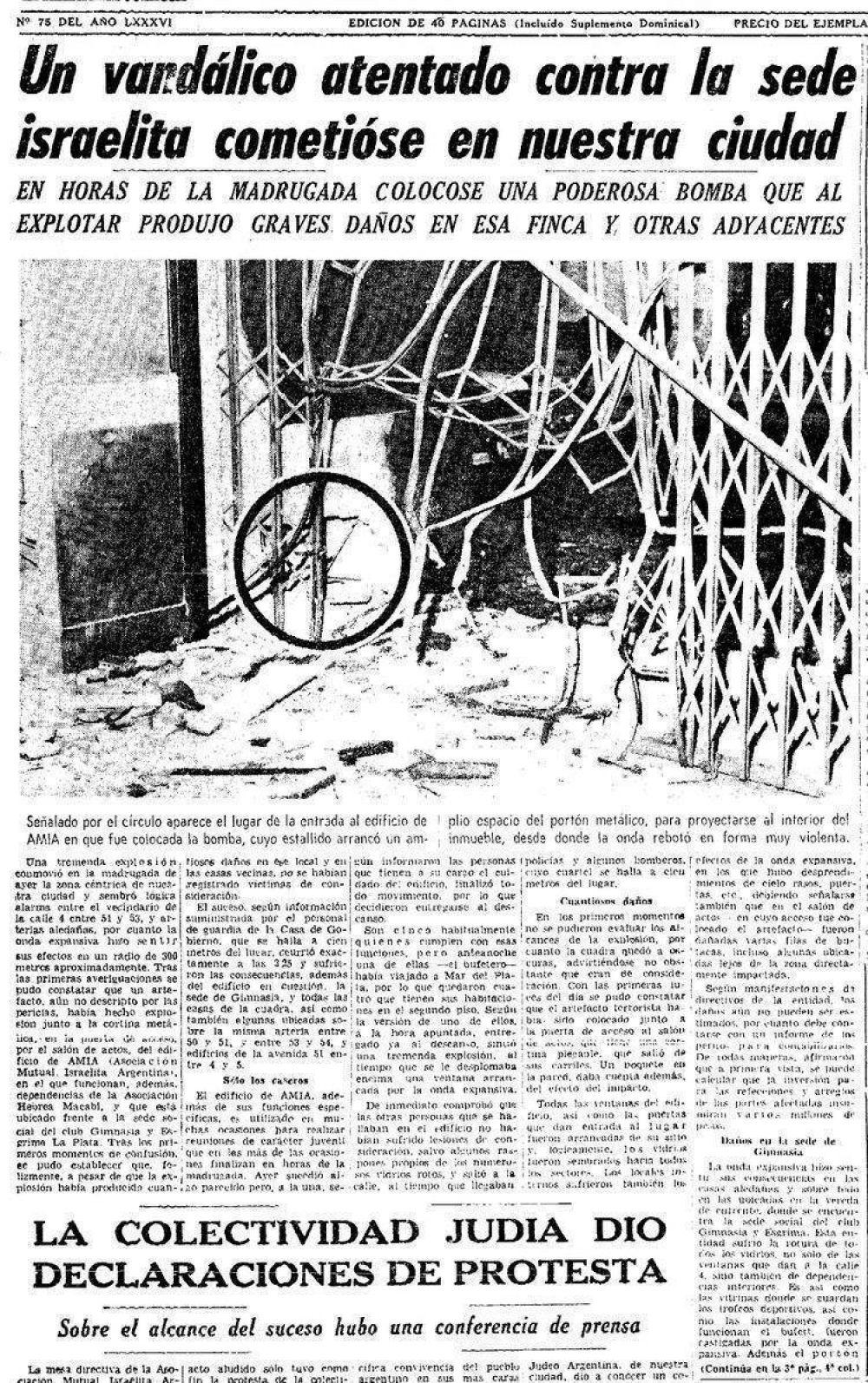 """""""Eliminar judíos, masones y comunistas"""": el ataque a la AMIA que nadie recuerda"""