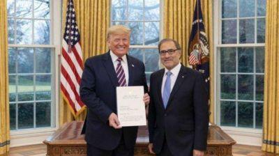 Trump recibió a Jorge Argüello y prometió apoyo: