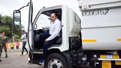 Nuevos camiones se suman a la flota de Higiene Urbana