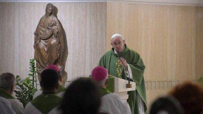 El Papa en Santa Marta: incluso en la Iglesia no hay humildad sin humillación