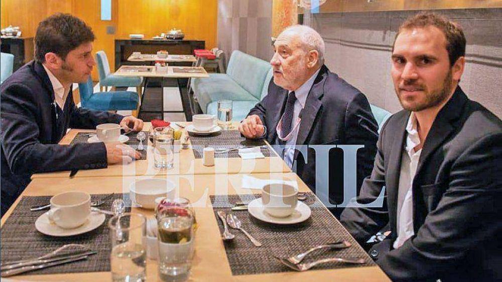 Kicillof y Guzmán, un vínculo marcado por las renegociaciones de las deudas