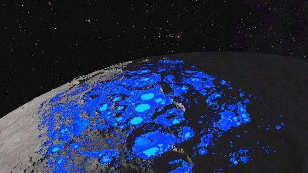 De película: perforarán el suelo para buscar agua en un polo de la luna