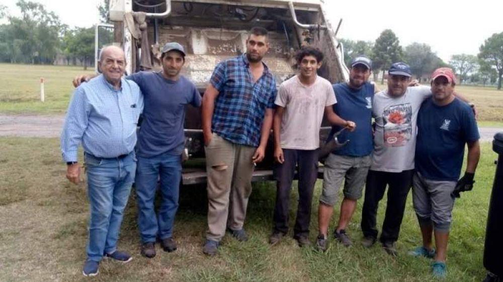 Contenedores y recolección de residuos en Ramón Biaus