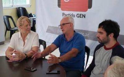 Stolbizer en Pinamar con el GEN de la quinta sección: Pidió mayor coparticipación para la Provincia