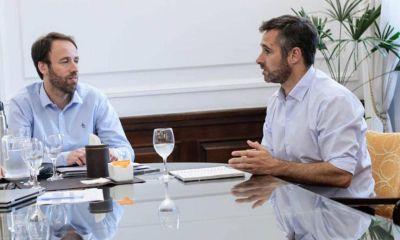 Achával se reunió con el Ministro de Hacienda bonaerense
