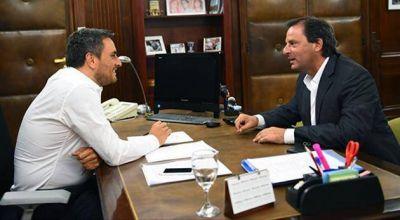 Ariel Sujarchuk se reunió con el ministro de Ambiente de la Nación, Juan Cabandié