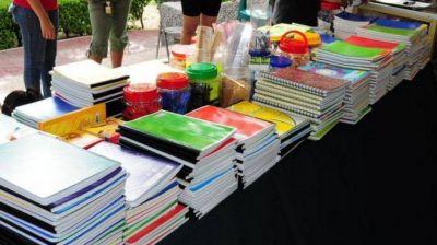 Cooperativas de trabajo se unen para ofrecer una canasta escolar a precios populares