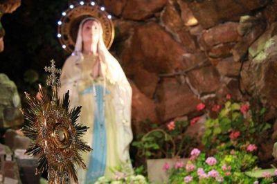 Los marplatenses honrarán a la Virgen de Lourdes