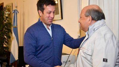 Rojas recibió a autoridades de la Cruz Roja Argentina