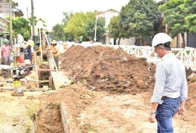 Morón | Avanza la obra de red cloacal para 13 mil viviendas del distrito