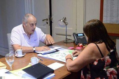 El Intendente José Rodríguez Ponte, se reunió con la Ministra de Gobierno, para tratar temas de obras esenciales para General Lavalle