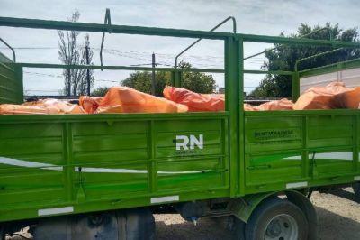 Se realizó la campaña de recolección de envases de agroquímicos en el Valle Inferior