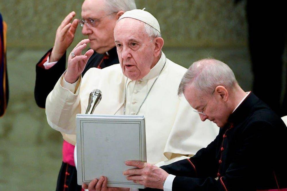 Confirmado: el Papa le dice