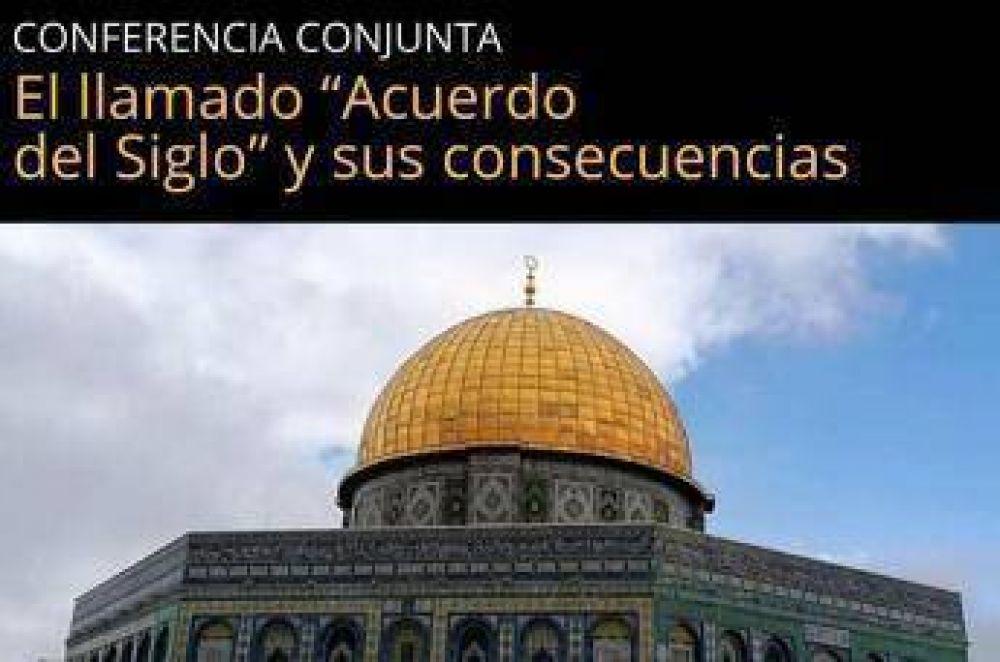 """Conferencia sobre """"Acuerdo del Siglo"""" en la ciudad de Buenos Aires"""