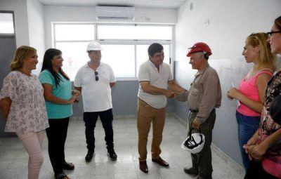 """Espinoza: """"En La Matanza tomamos la decisión política de invertir en educación"""""""