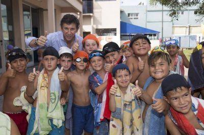 San Isidro: cientos de chicos disfrutan de la colonia de verano en el Campo Nº 5