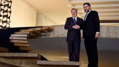 Solá se reunió con Bolsonaro con el objetivo de recomponer las relaciones entre la Argentina y Brasil