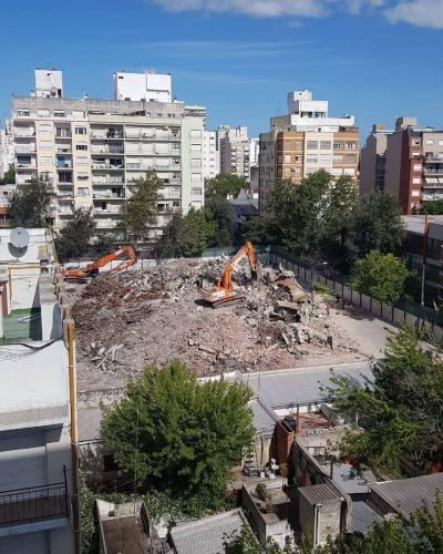 Torres y Liva: sólo escombros
