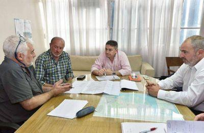 OSSE acordó con Provincia más financiamiento para obras en la ciudad