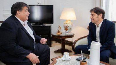 Kicillof recibió a Ishii en Casa de Gobierno