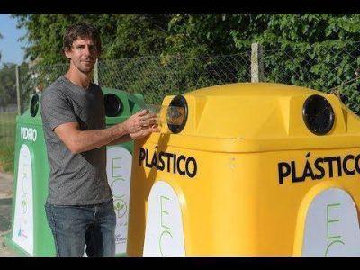 Juan Andreotti presentó nuevas Campanas de Reciclaje para San Fernando