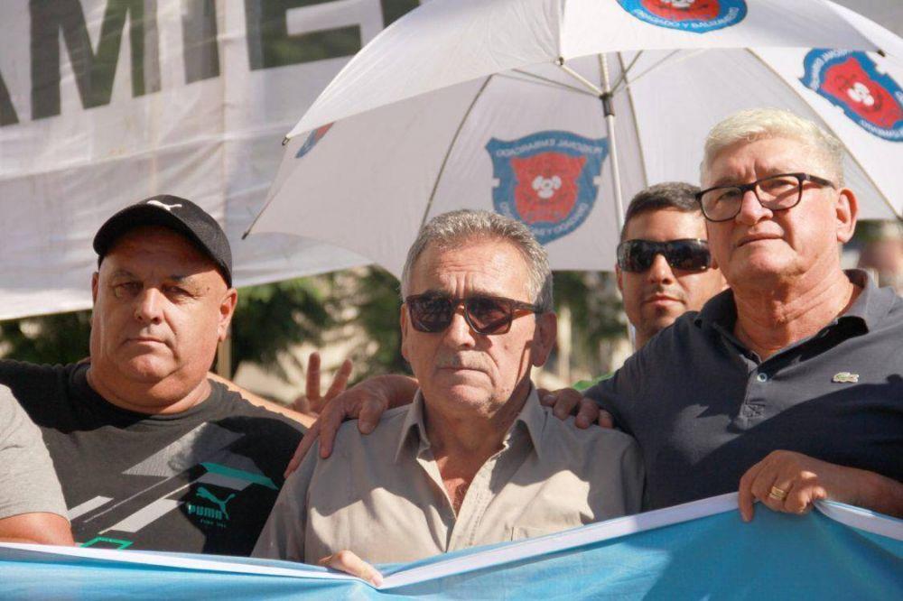Video: Marítimos repudiaron al FMI pero apuntaron también la falta de políticas en la industria naval