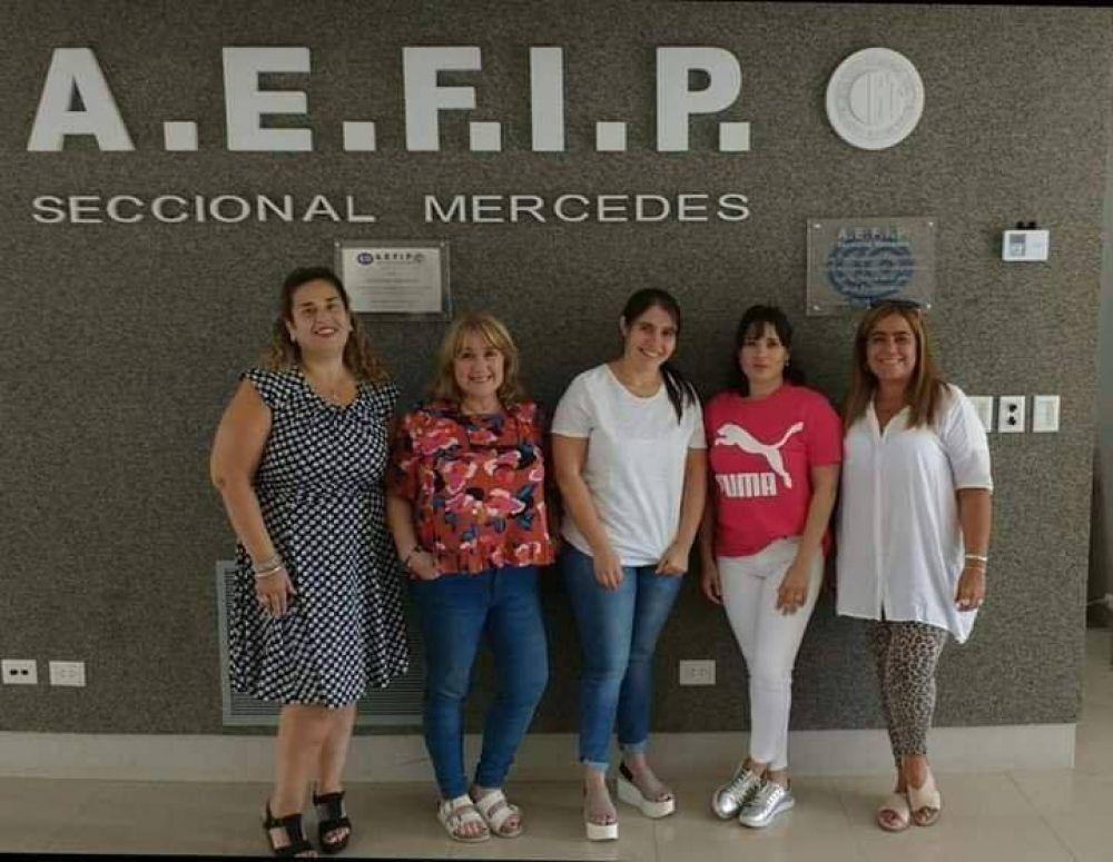 Mujeres de AEFIP se organizan