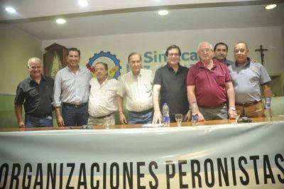 Sindicatos de la CGT y las 62 Organizaciones respaldaron a Uñac