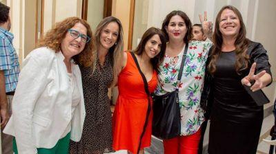 Malena Galmarini participó de la entrega del DNI 9 mil por la Ley de Identidad de Género