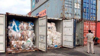 En tres meses, la Argentina importó 40 mil toneladas de basura