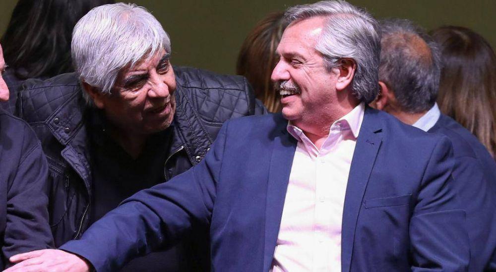 Moyano mostró su apoyo al pago en suma fijas impulsado por Alberto Fernández