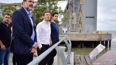 En medio de la polémica por una nueva ley, Kicillof designó a Susbielles al frente del puerto de Bahía Blanca