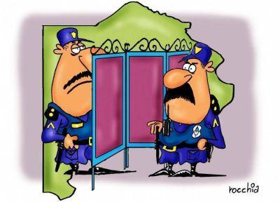 El manejo de la policía divide a la provincia