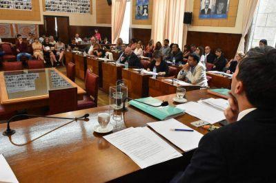 El Concejo aprobó el paquete presupuestario de Montenegro