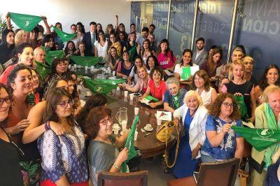 Aborto: reunión con legisladoras, marcha del #19F y expectativa por el proyecto oficial