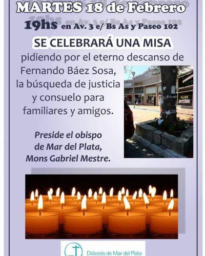 Obispo presidirá una misa en el lugar donde fue asesinado Fernando