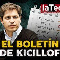 El boletin de Kicillof