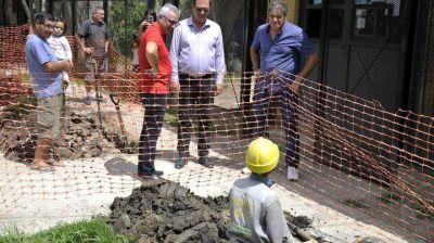 Zamora supervisó el avance del tendido de red de gas en Las Tunas