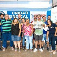 Los gremios acompañan en una protesta a los trabajadores del relleno sanitario