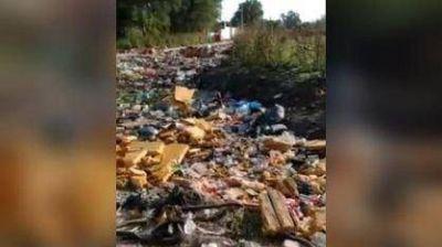 Entre basura y ratas, así conviven los vecinos del barrio Las Heras