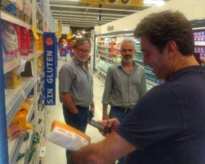 Boto controló «Precios Cuidados» en Luján