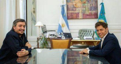 Kicillof repasará con legisladores del Frente de Todos la deuda y el traspaso de subsidios a Nación