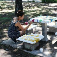 """""""Museando"""" en el Parque Néstor Kirchner"""