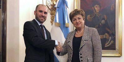 """Un nuevo encuentro de Guzmán con Georgieva, tras el """"contrapunto"""" entre Cristina y el FMI"""