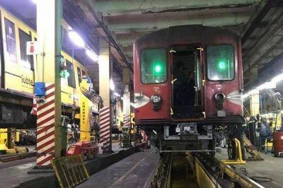 """Metrodelegados advierten: """"Si no retiran los vagones con asbesto vamos a tomar medidas"""""""