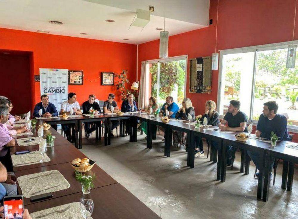 En la previa a la reaparición de Vidal, legisladores de Cambiemos