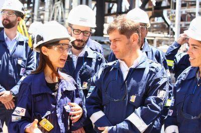 Kicillof elogió a la industria del petróleo y aseguró que